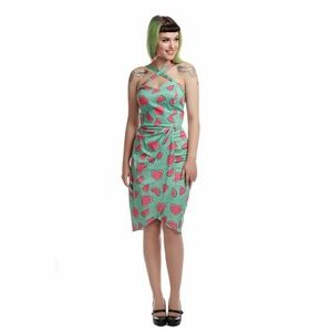 Collectif Mahina Watermelon Love Sarong dress